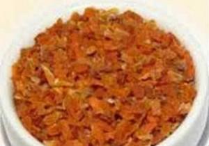 Зимние заготовки из моркови_сушеные