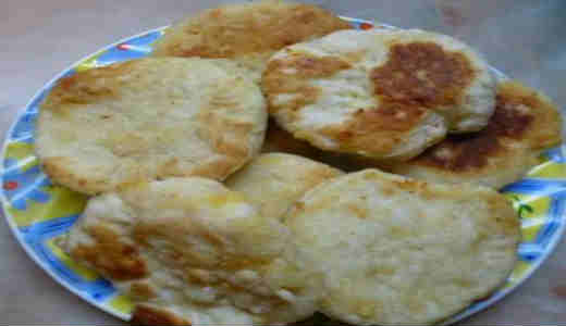 Быстрые сырные лепешки_как приготовить
