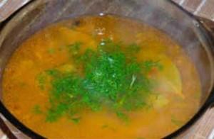 Вкусные постные супы_грибной суп