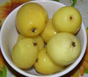 Рецепт моченых яблок антоновка_ яблоки моченые в миске