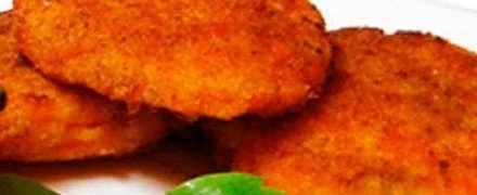 Рецепт морковных оладьев_готовое блюдо