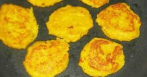 Оладьи на кефире из тыквы_ выпекаем на сковороде