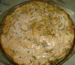 Рецепт капустной запеканки с фото_подать на стол