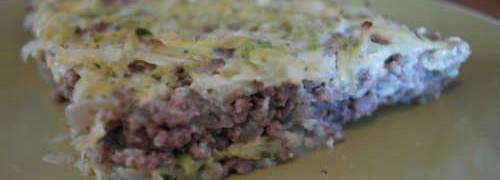 Рецепт капустной запеканки_в духовке