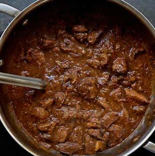 Рецепт говядины тушенной в пиве_приготовление