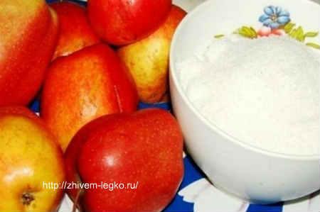 Повидло из яблок на зиму-рецепт