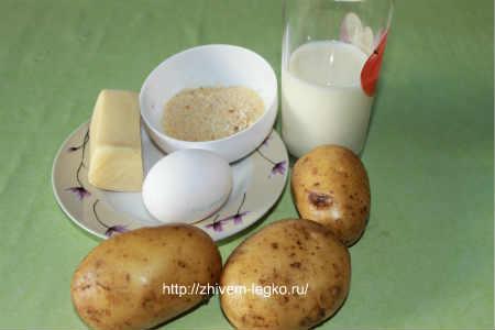 Картофельные палочки с сыром_ рецепт