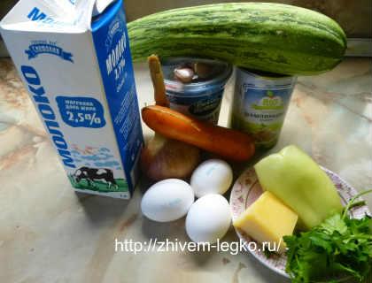 Запеканка из кабачков в духовке_ как приготовить