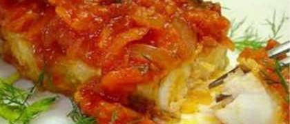 Быба по гречески рецепт_готовое блюдо