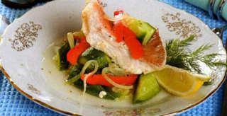 Рыба по гречески рецепт_с овощами