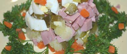 Как приготовить салат оливье_рецепт