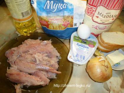 Рыбные котлеты_рецепт с фото пошагово