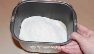 Кекс в хлебопечке, рецепт простой и вкусный_добавить сухую смесь