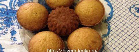 Лимонный кекс рецепт с фото пошагово_как приготовить