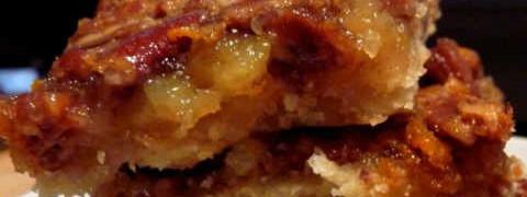 Венгерский яблочный пирог_ с грецкими орехами