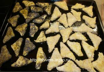 """Творожное печенье """"треугольники""""- пошаговый рецепт_выпекать печенье в духовке"""