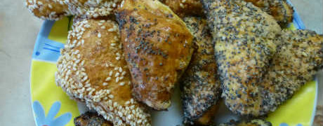 """Творожное печенье """"треугольники""""- пошаговый рецепт_готовое печенье"""