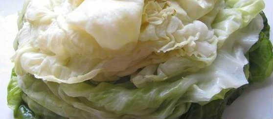 Как приготовить капусту для голубцов в микроволновке_листья капусты