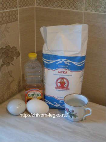 Рецепт лазаньи с фаршем с фото пошагово_продукты