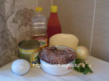 Рецепт лазаньи с фаршем с фото пошагово-продукты по рецепту