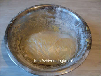 Рецепт лазаньи с фаршем с фото пошагово_тесто завернуть в пленку