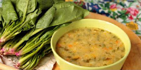 Крапивный суп рецепт_ со щавелем
