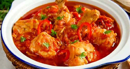 Чахохбили из курицы классический рецепт_приготовление