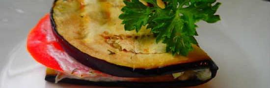 Тещин язык из баклажанов-рецепт с фото
