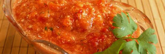 Хреновина с помидорами и чесноком_на зиму