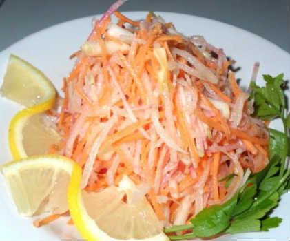 Салат из редьки_рецепт приготовления