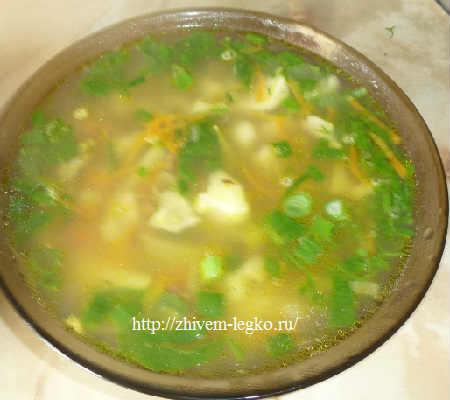 Суп с грибами шампиньонами рецепт с фото_готовое блюдо