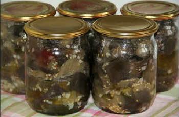 Баклажаны на зиму лучшие рецепты, как грибы_жареные