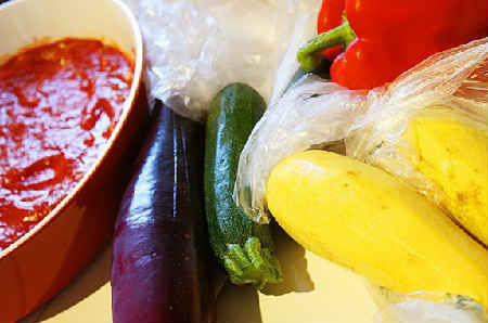 Рататуй рецепт с фото пошагово в духовке_продукты для приготовления