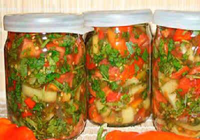 Заправки для супов на зиму в банках_овощная