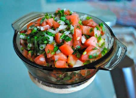 Соус сальса рецепт классический_из помидоров