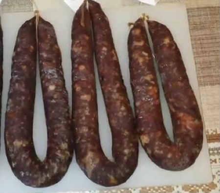 Вяленая колбаса в домашних условиях_рецепт